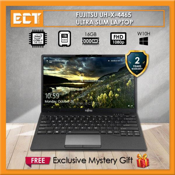 Fujitsu UH-X 4465 Laptop (i7-1165G7 4.70GHz,16GB,1TB SSD,13.3 FHD,Intel,W10) - Black Malaysia