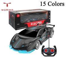 1:18 Bánh Xe Điều Khiển Từ Xa 4WD 4CH MODE2 Bằng Nhựa Đồ Chơi Cho Bé Trai Đèn Pha LED, Điều Khiển Từ Xa Đồ Chơi Giáo Dục Xe Hơi Cho Trẻ Em