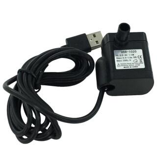 Eshopdeal hàng Có Sẵn máy Bơm Nước Chìm Mạnh Mẽ Mini USB, Có Dây Nguồn, Tượng Đài Cho Bể Cá Hồ Cá Màu Đen thumbnail