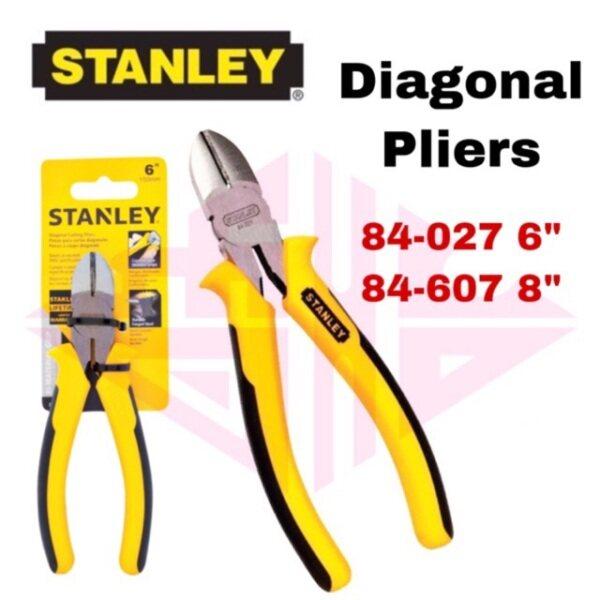 EEHIONG1977 Stanley 84-607 8 84-027 6 Heavy duty diagonal cutting pliers plier Playar Gunting Wayar 对角切割钳子 剪电线钳