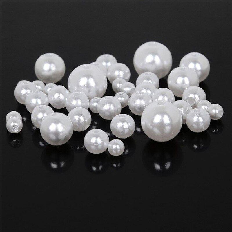 700 Chiếc 4Mm-10Mm Nhiều Màu Hạt Nhựa Vòng Abs Loose Pearl Beads Đối Với Trang Sức Làm Necklace Bracelet Diy