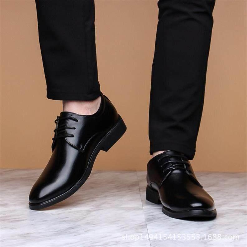 Giày Nam Kiểu Anh, Giày Công Sở Thường Ngày, Giày Dây Buộc Trang Trọng Thời Trang Kiểu Hàn Quốc Mùa Xuân Hè Mới giá rẻ