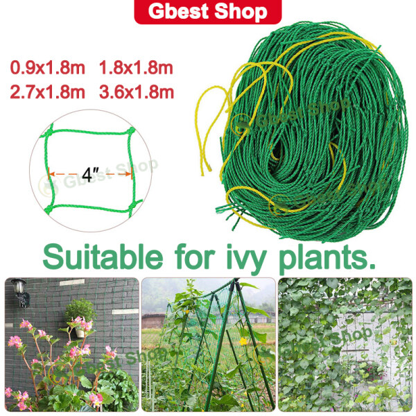 【Gbest】Malaysia Ready Stock Climbing Plant Support Gardening Tools And Equipment Netting Garden  Garden Tool Accessories Trellis Net For Plants Fruit Net Vegetable Netting Plastic Orchid Netting Vine Support 园艺工具 种植网 植物攀爬网