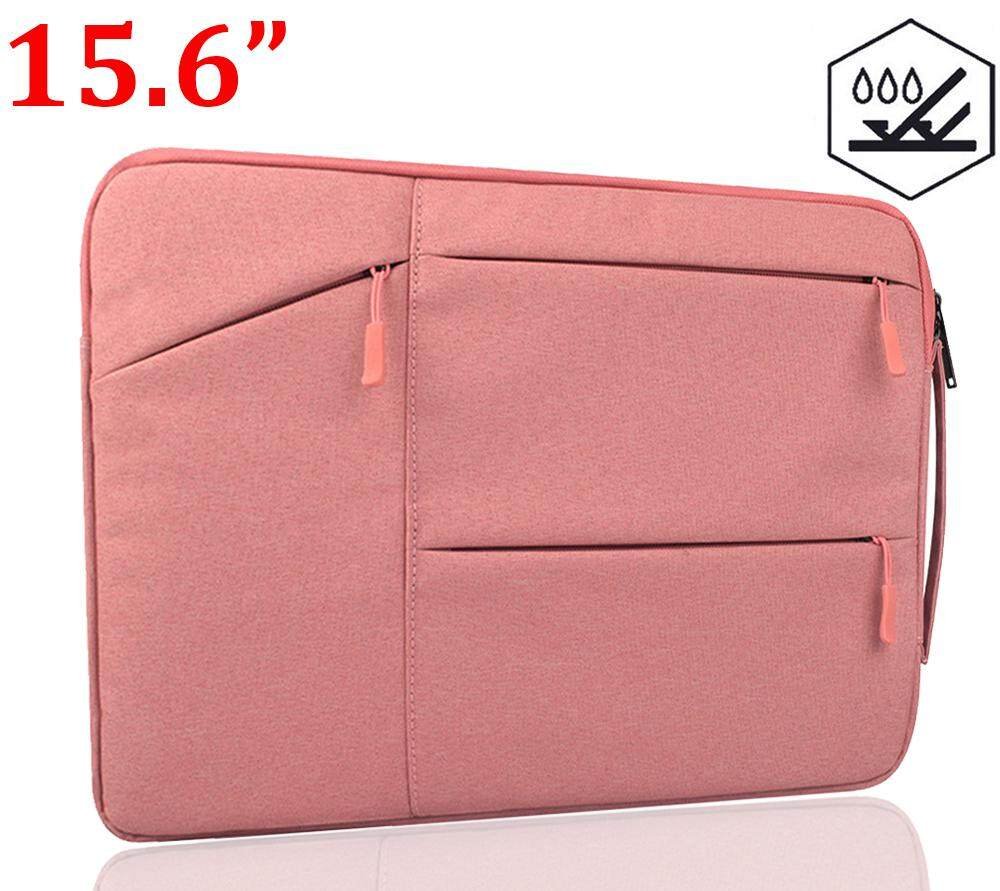 833a8347b1e 【15.6 Inch】 Fiber Water Resistant Laptop Sleeve with Handle,Light Weight  Notebook Briefcase