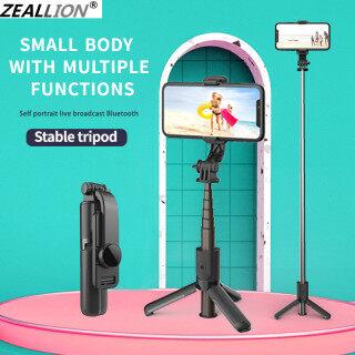 Zeallion Gậy Selfie Mini Cầm Tay Bluetooth Mới Nhất, Với Chân Máy Đơn Dành Cho Điện Thoại, Giá Đỡ Phù Hợp Gimbal Điện Thoại Thông Minh Đứng thumbnail