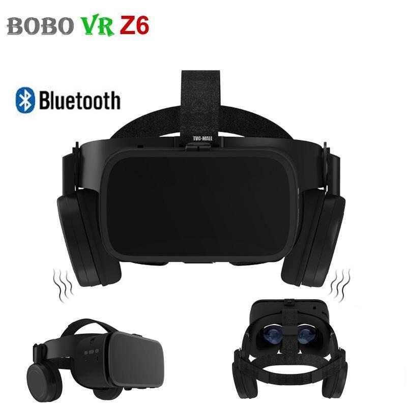 Giá BOBO VR Z6 Bluetooth Không Dây Kính Thực Tế Ảo 3D Video Kính Tai Nghe Cho Trò Chơi Di Động Âm Thanh & Video