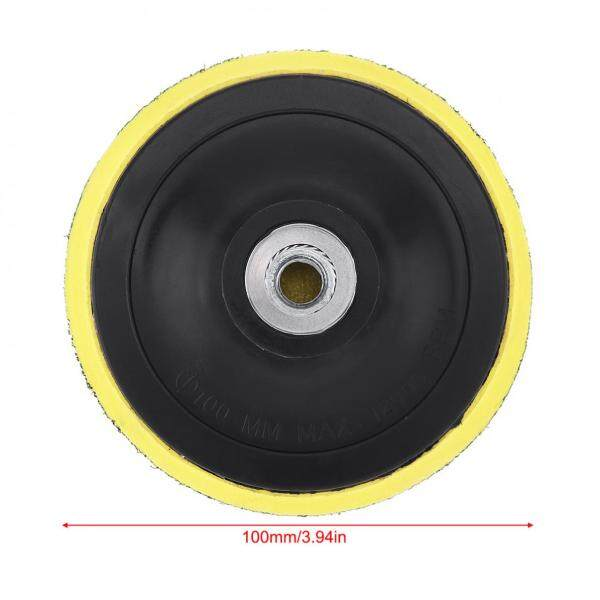 4  Polishing Disc Suction Cup Self-adhesive Sandpaper Sucker Electric Grinder Disc for Electric Grinder Polish & Drill Rod
