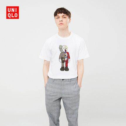 1dcc66a9 Ready Stock Original UT UNIQLO x KAWS co-branded 2019 Jun New men's/women's