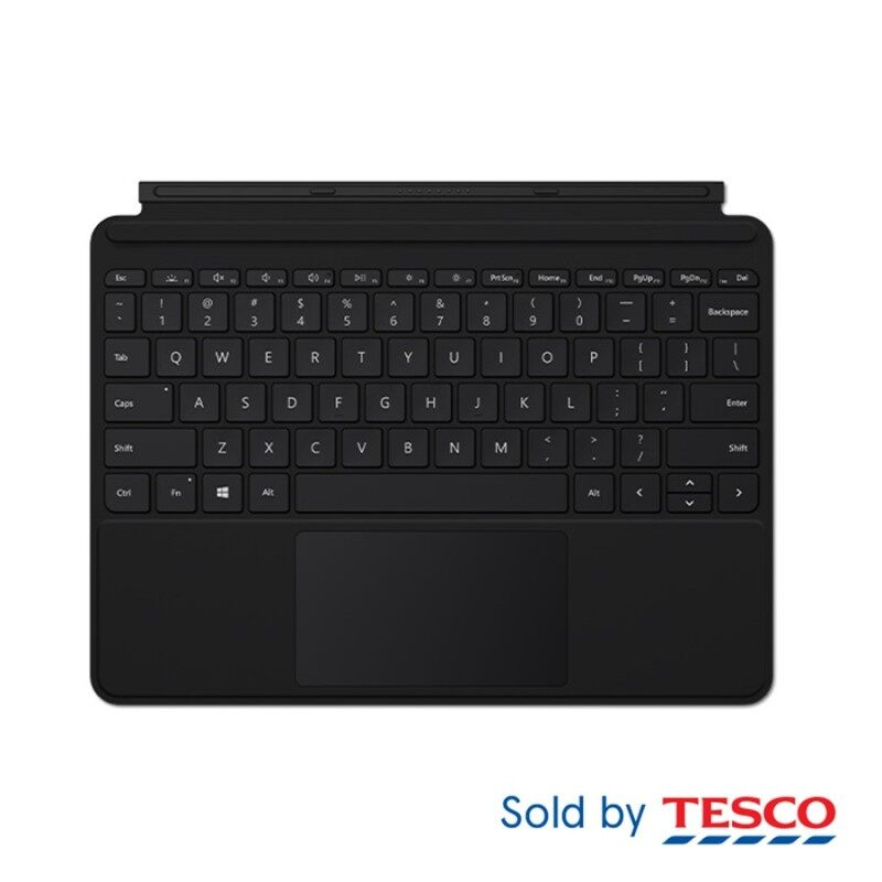 Microsoft Surface Go Type Cover Black Refresh (KCM-00039) Malaysia