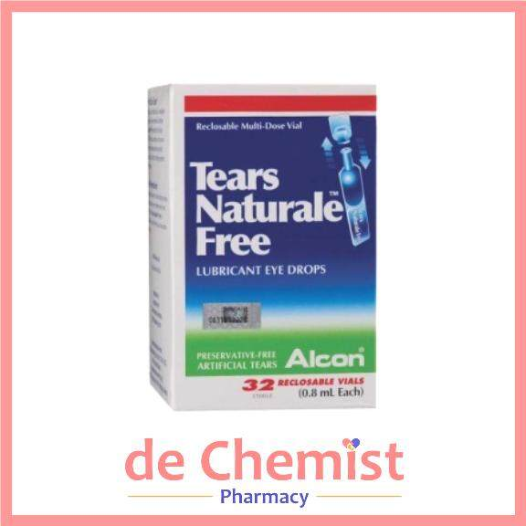 Alcon Tears Naturale Free 32 S Reclosable Vials Exp 02 2022 Lazada