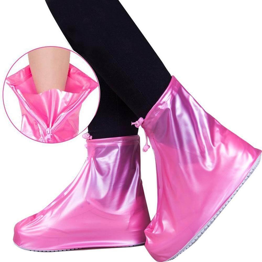 Buyinbulk Dapat Digunakan Kembali Penutup Sepatu Hujan, Tahan Slip Rainshoes Untuk Wanita Pria Anak By Buyinbulk.
