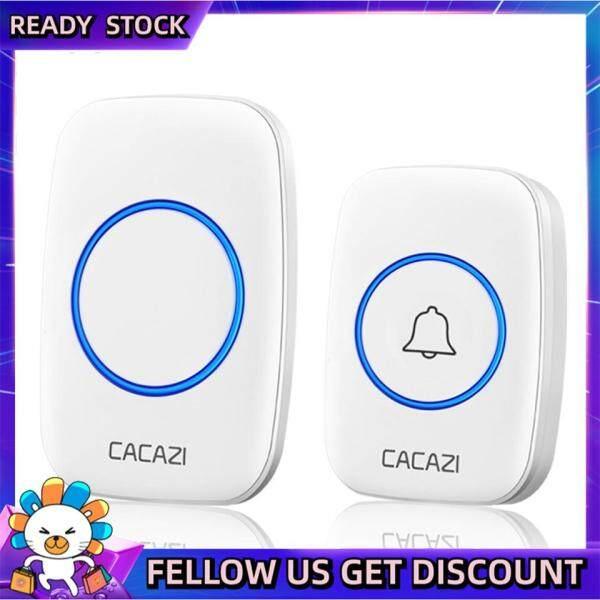LUSHUO Door Bell wireless doorbell waterproof 300M range door bell CACAZI A10 Intelligent small home 38 chimes door ring