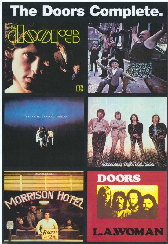 The Doors Complete (25CM X 17CM) / Music Book / Guitar Book / Guitar Chord Book / Song Book / Voice Book Malaysia