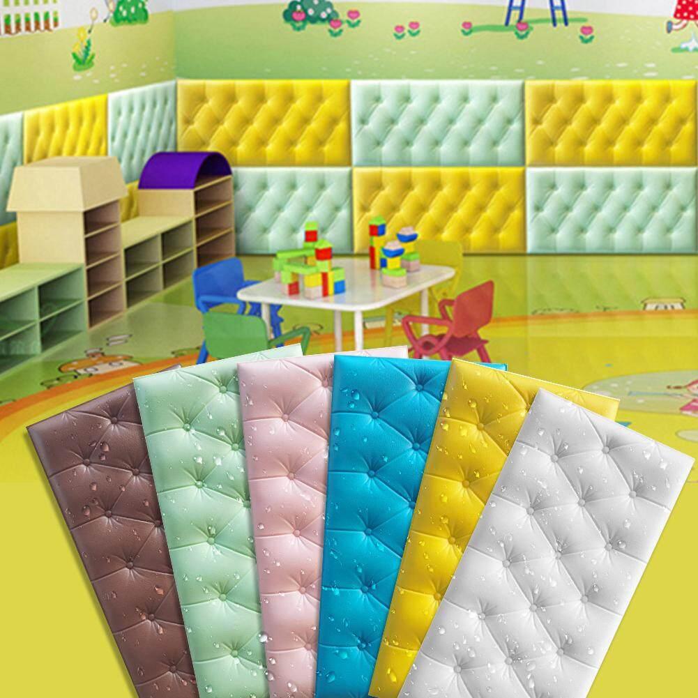 1 PC 3D Wallpaper Busa Perekat Antiair Wallpaper Untuk Ruang Tamu Ruang Anak Kamar Tidur Dekorasi Rumah Untuk Kamar Anak