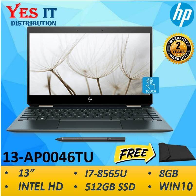 HP Spectre X360 13-AP0046TU (13/I7-8565U/8GB/512GB SSD/Intel HD/WIN10)--FREE HP SLEEVE Malaysia