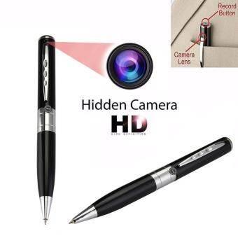 Avivahc 32GB HD 1280x1024 ปากกาลูกลื่นกล้องซ่อนกล้องวงจรปิดป้องกันความปลอดภัยเครื่องบันทึกวีดีโอ Camcorder