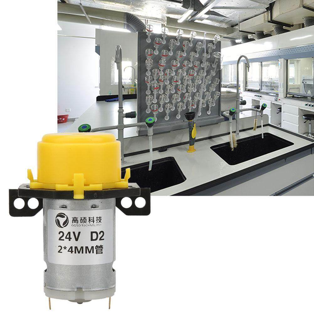 DC24V Micro Water Liquid Peristaltic Pump For Aquarium Lab Analytical 2*4mm