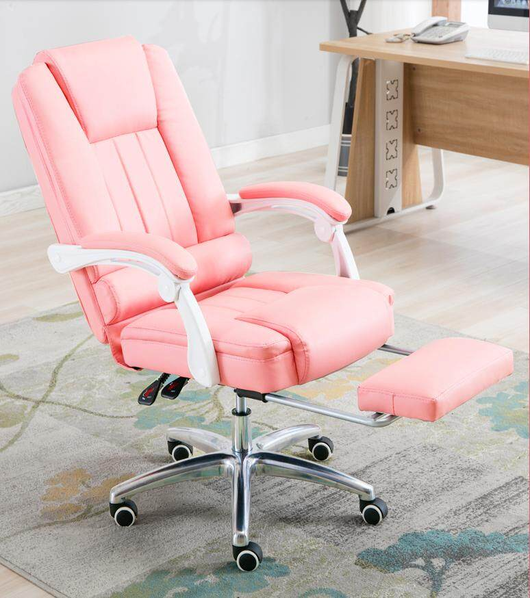 Computer Chair Comfortable Sedentary Home Swivel Chair Lift Boss Office Chair Lazada Ph
