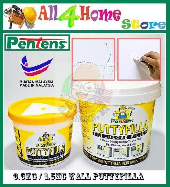 PENTENS Putty Filler Resin Clay Powerful Epoxy Adhesive Filling Cracks & Holes (0.5kg & 1.5kg)