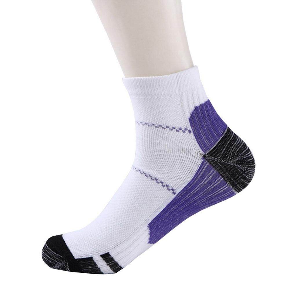 462b3468a6 Bigood Plantar Fasciitis Socks Compression Support Sleeves For Your Aching  Heels L/xl Purple By