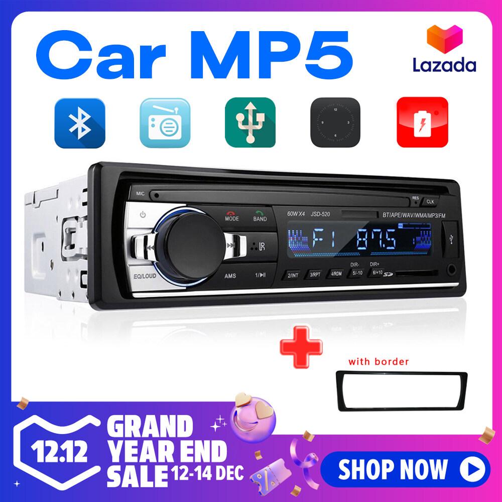 1DIN Trong Xe Máy Bộ Đàm Stereo Điều Khiển Từ Xa Kỹ Thuật Số Âm Thanh Bluetooth Âm Nhạc Stereo 12V Radio Mp3 Người Chơi USB/SD/AUX-IN Có Giá Rất Tốt