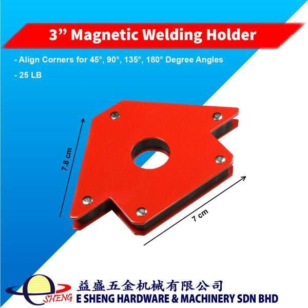 25LB 3 Magnetic Welding Angle Holder Corner Arrow Support Strength Power Magnet
