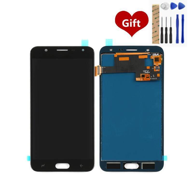 Untuk Samsung Galaxy J7 Duo Layar LCD Digitiser Lengkap LCD Layar Sentuh Panel Perakitan Pengganti Suku Cadang 5.5 Inch