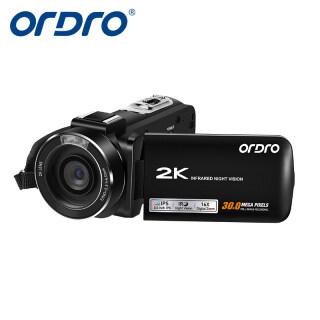 ORDRO HDV-Z63 2K Video Camera Với Zoom Kỹ Thuật Số 16X & Webcam, Máy Ghi Hình Camera WiFi 30MP 30MP Chức Năng Hồng Ngoại Tầm Nhìn Ban Đêm Máy Ảnh Kỹ Thuật Số Máy Quay Vlog YouTube thumbnail