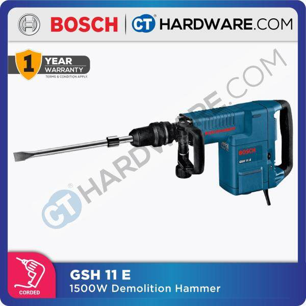 Bosch GSH 11 E Professional Demolition Hammer With SDS-Max 1500W (GSH11E)