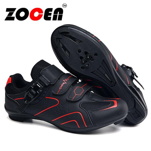 Giày đi xe đạp cho Nam và Nữ, Giày đi ngoài trời thông dụng bằng cao su Hàn Quốc chống trượt có khóa dành cho nam và nữ