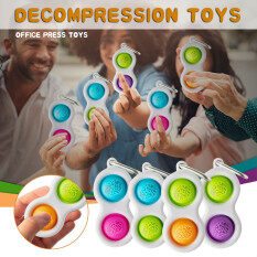 (In stock, fast delivery)Children Dimple Toy Pressure Reliever Board Controller Educational Toy