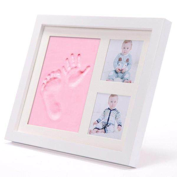 CFB Solid Wood With Cover Photo Frame Hand And Foot Mold Hand And Foot Print