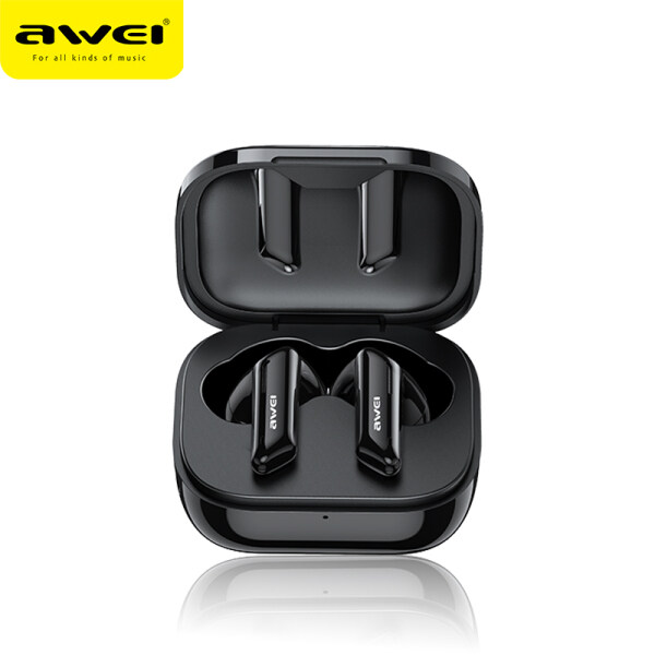 Awei T36 TWS Earbuds With 5 Hours Playtime, Bluetooth V5.0, Zero Delay, Bass Sound Singapore
