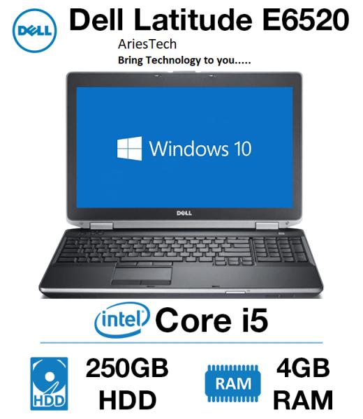 Used 15.6 inch Laptop Dell Latitude E6520 Laptop Intel Core i5 Notebook Intel Core i5 Laptop Dell Core i5 2rd gen laptop Malaysia
