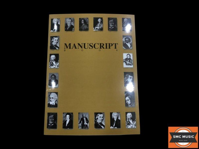 Manuscript book for music students Malaysia