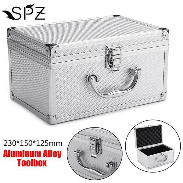 Handheld Tool Box Storage Case Aluminum Alloy Sponge Lining Portable Organizer