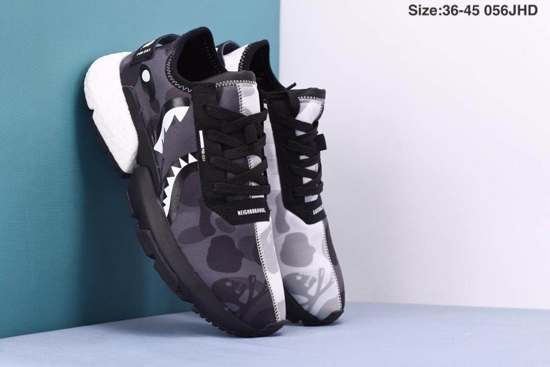 reputable site 434ef 84a0c Running shoes Adidas_POD S3.1 Bape x Neighborhood Running shoes Fashionable  casual shoes (A PAir_Of Socks As A Gift)