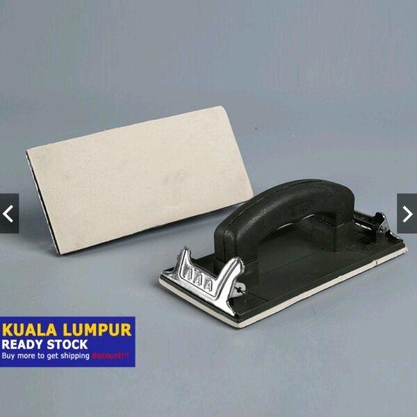 Sand Paper Holder, Polished handle for Sand Paper