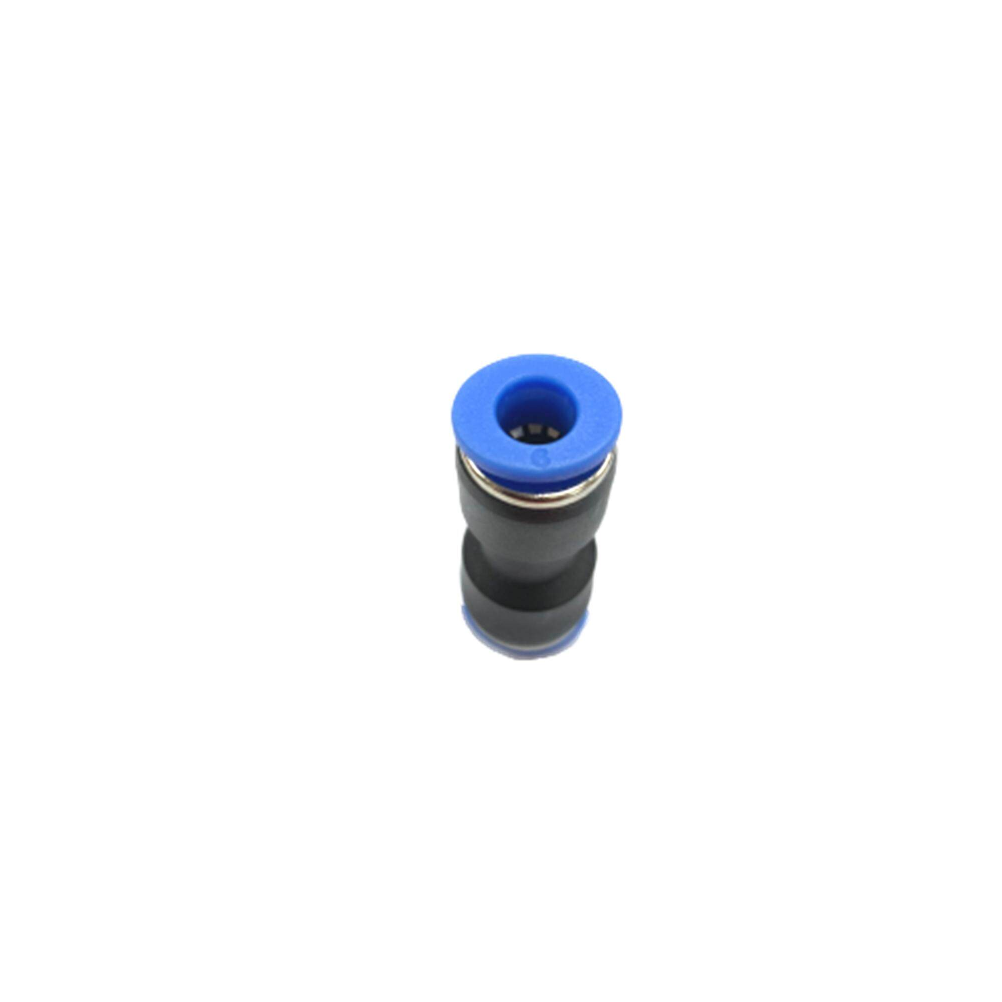 Pu06 6mm Straight Union Pneumatic Air Push In Quick Fittings By Hong Sheng Store.