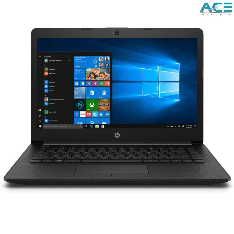 HP 14-cm0087AU Notebook *Black* (A6-9225/4GB DDR4/500GB HDD/ATI/14 HD/Win10) Malaysia