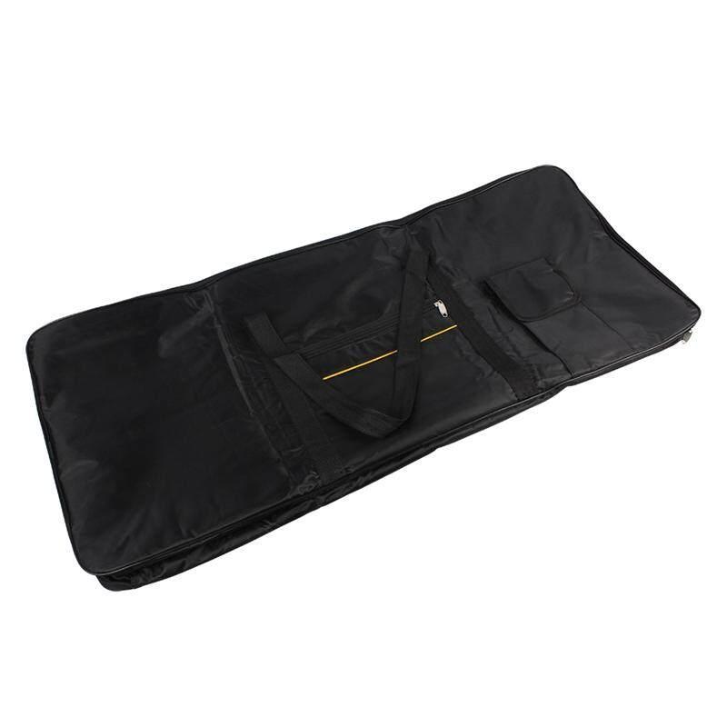 Portable 61-Key Keyboard Electric Piano Organ Gig Bag Soft Case Double Zipper 39.3 Inch x 15.7 Inch 600D Cloth Pe Foam Padded