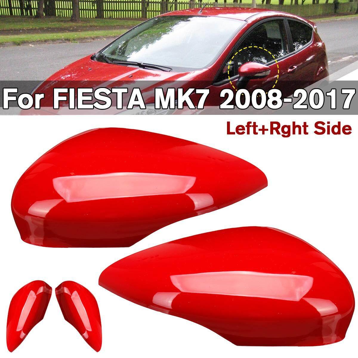 Passenger Left Side Wing Mirror Cover Cap Painted For Ford Fiesta MK7 2008-2017