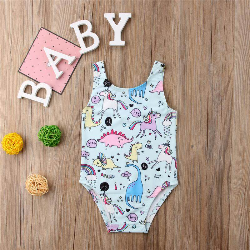 Toddler Kids Baby Girl Swimwear Swimsuit Swimming Beachwear