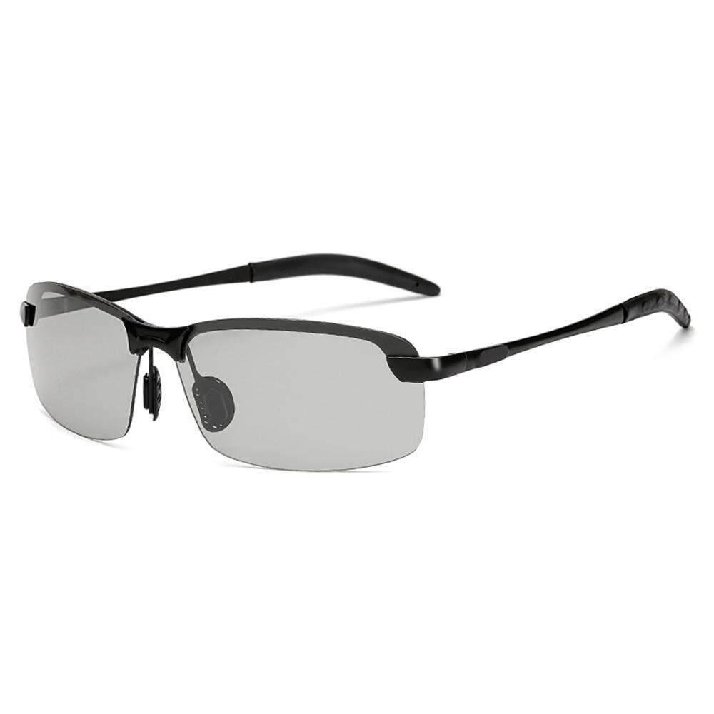 2253a48286e4 Aolvo Color-Changing Glasses Men's Day and Night Dual-Use Intelligent  Photosensitive Color Polarized