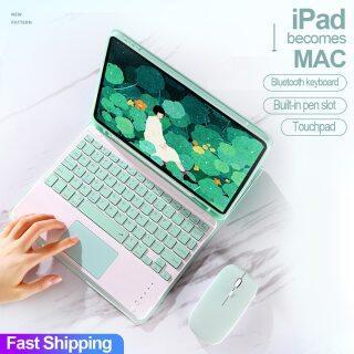 Bàn Phím Cảm Ứng, Cho Ốp iPad Vỏ Chuột Keybar iPad Pro 9.7 10.5 11 Air 2 3 4 10.9 10.2 8 2020 7th 6th Generation thumbnail