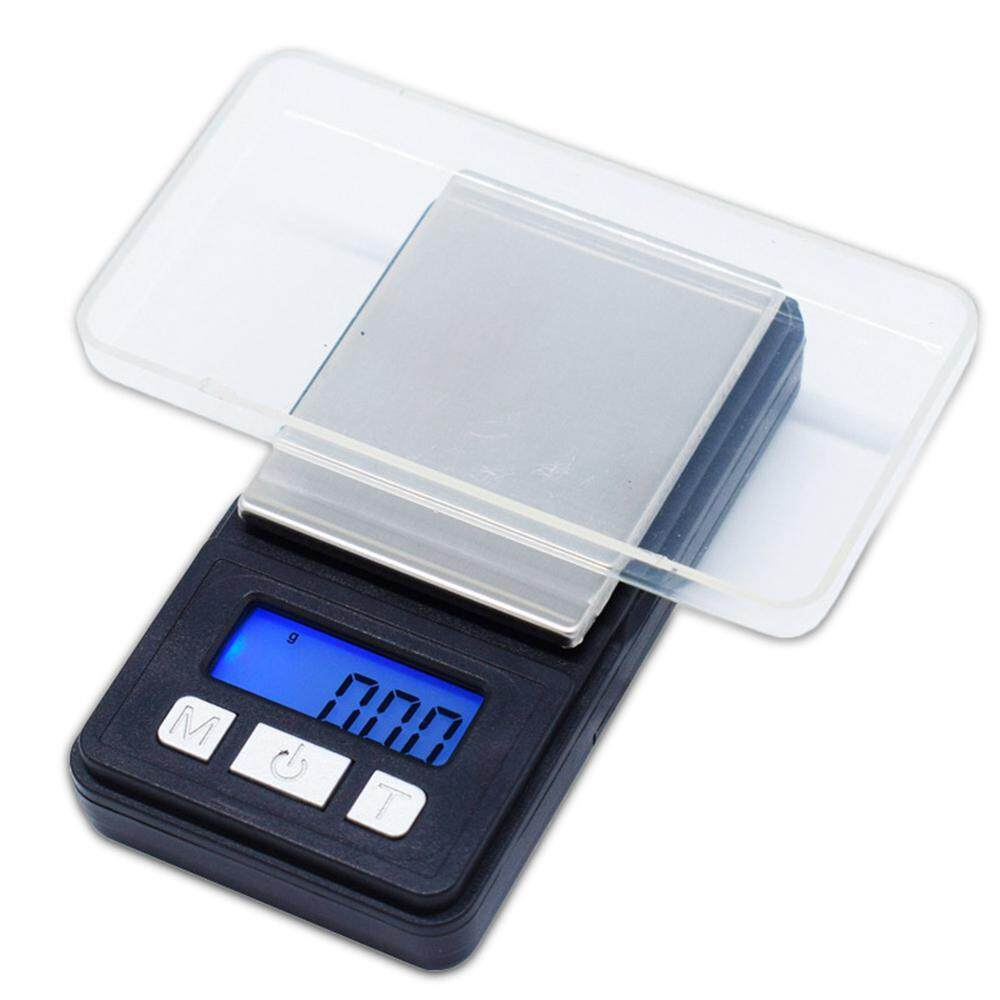 leegoal Digital Pocket Scale - Portable Digital Scale With Back-lit LCD Display, 500 X 0.1g, Mini Scales 500g, Mini Digital Weighing Scale Precision Scale Jewelry Scale Electronic LCD Scale(8.5 X 4.5 X 2cm)