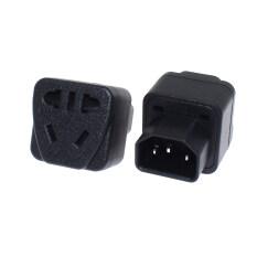 IEC 320 C14 Nam Đến C13 Nữ Power Adapter PDU/UPS C13 Phổ Nữ AU/US/EU 2PIN 3PIN Chuyển Đổi Cắm CE Phê Duyệt