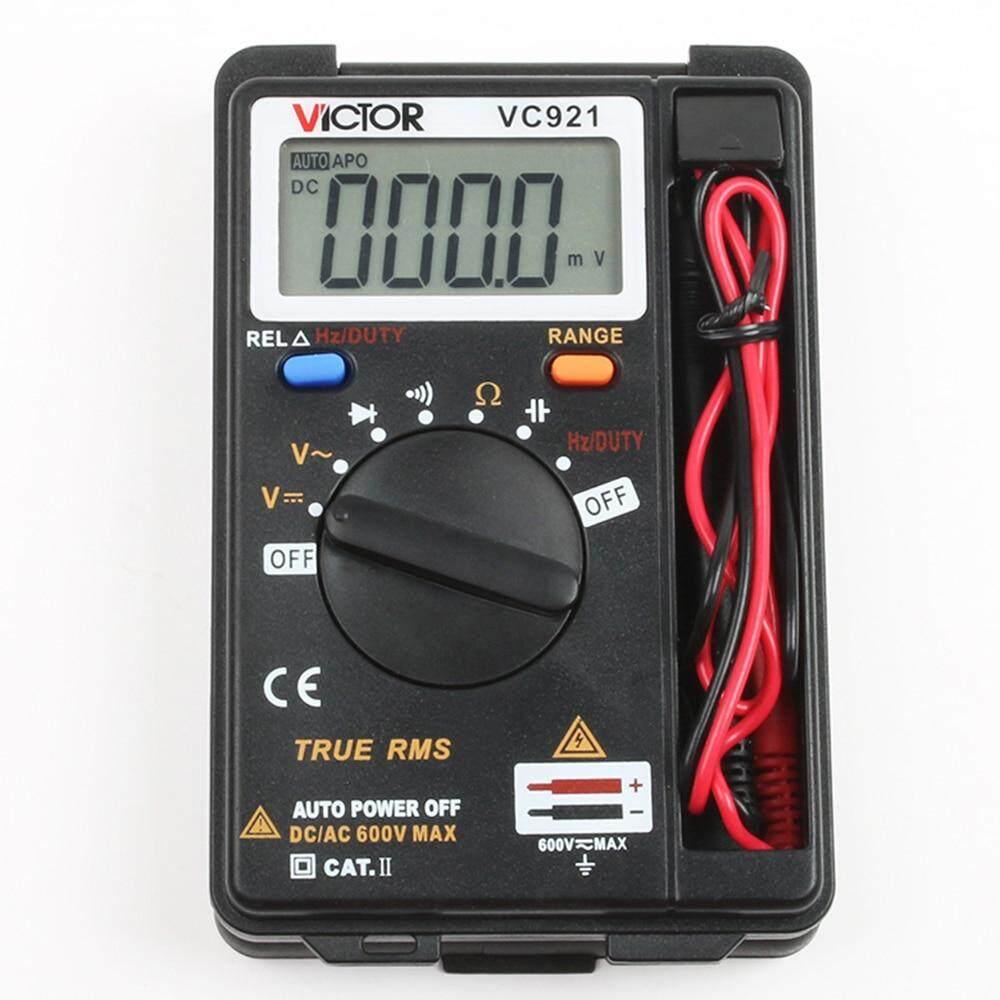 VC921 Mini Digital Multimeter DMM Integrated Personal Handheld VC921 Mini portable Multimeter automatic range——(1 pcs)