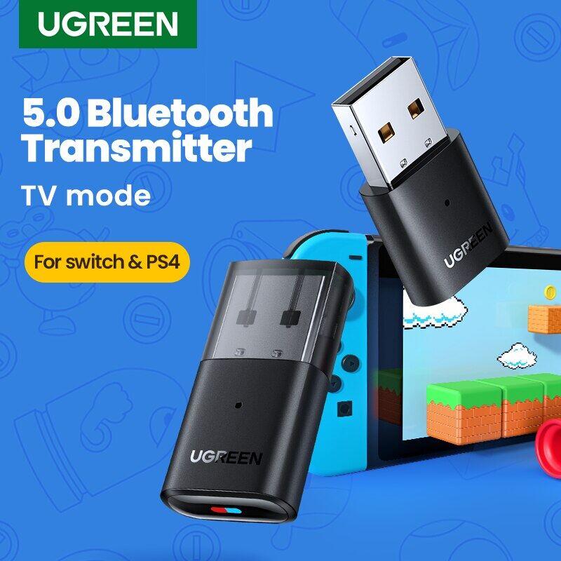 Bộ Phát USB Bluetooth 5.0, Bộ Chuyển Đổi Âm Thanh, Bộ Chuyển Đổi Bluetooth Cho Máy Tính Airpods PC PS4 Pro Nintendo Switch Chế Độ TV