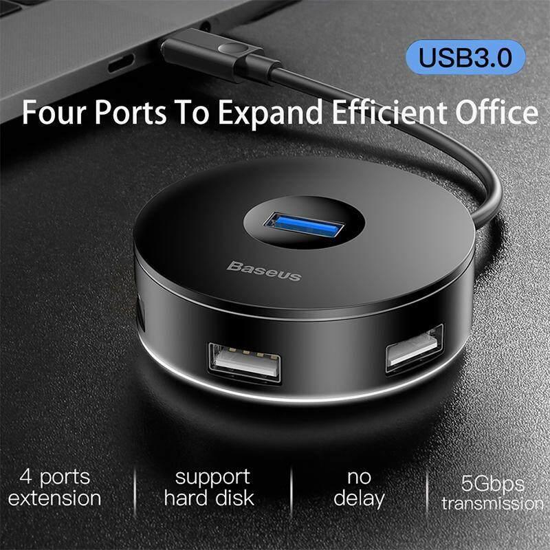 Original Baseus Multi USB 3.0 / Type C HUB to USB3.0 + 3 USB2.0 for Macbook Pro HUB Adapter for Computer Hard Drive Accessory
